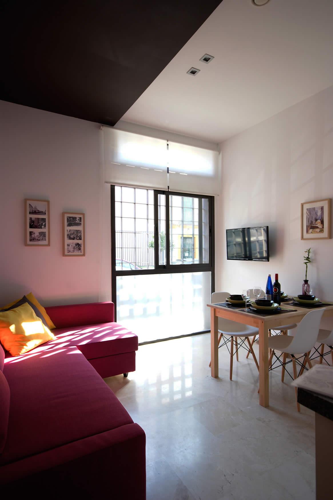 Apartamento en m laga centro loft minimal puntoapart - Apartamento vacacional malaga ...