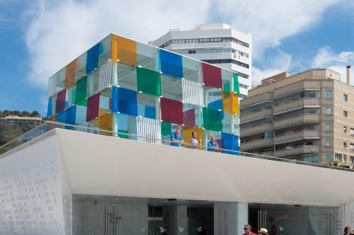 Apartamento en Malaga cerca del CentroPompidou